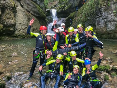 ou faire du canyoning dans le jura, venez decouvrir les gorges de Malvaux
