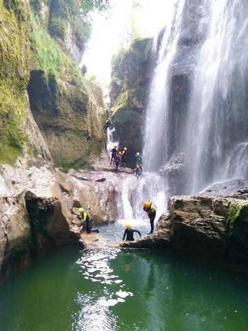 Canyon des gorges de la Langouette